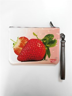 Hand Mode Strawberry Clutch