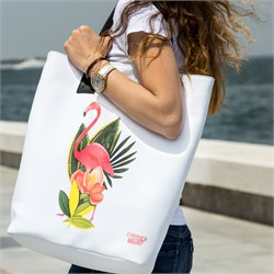 Tote Mode Flamingo